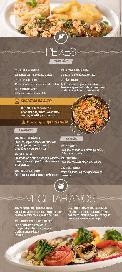 Caribe Motel um dos melhores motéis de São Paulo. Conheça nosso cardápio de peixes & pratos vegetarianos.
